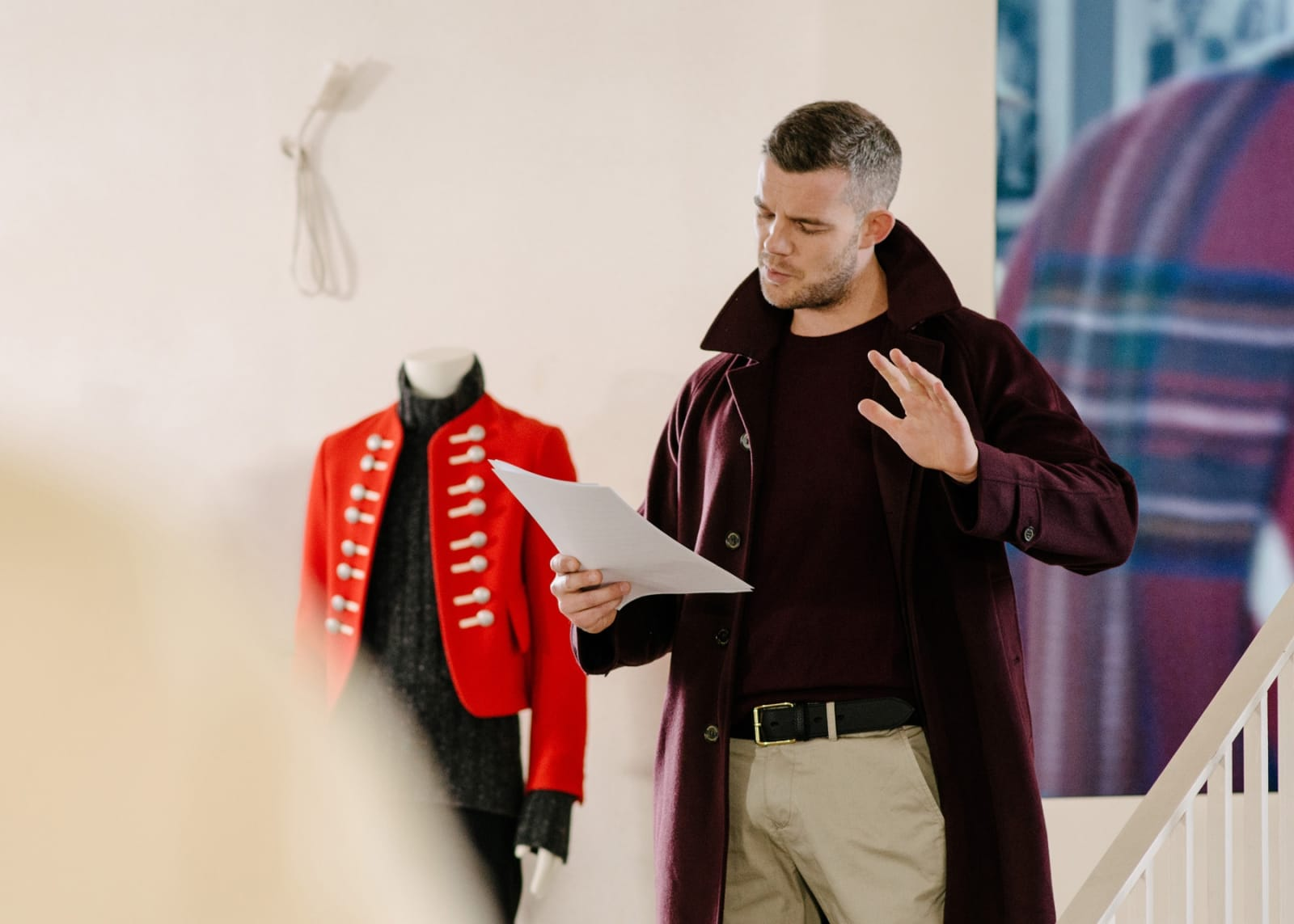 Russell Tovey at Hauser & Wirth Somerset