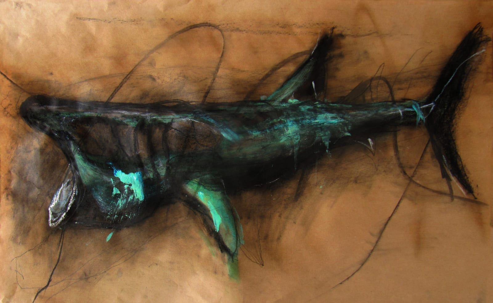 Margo Banks, Basking Shark