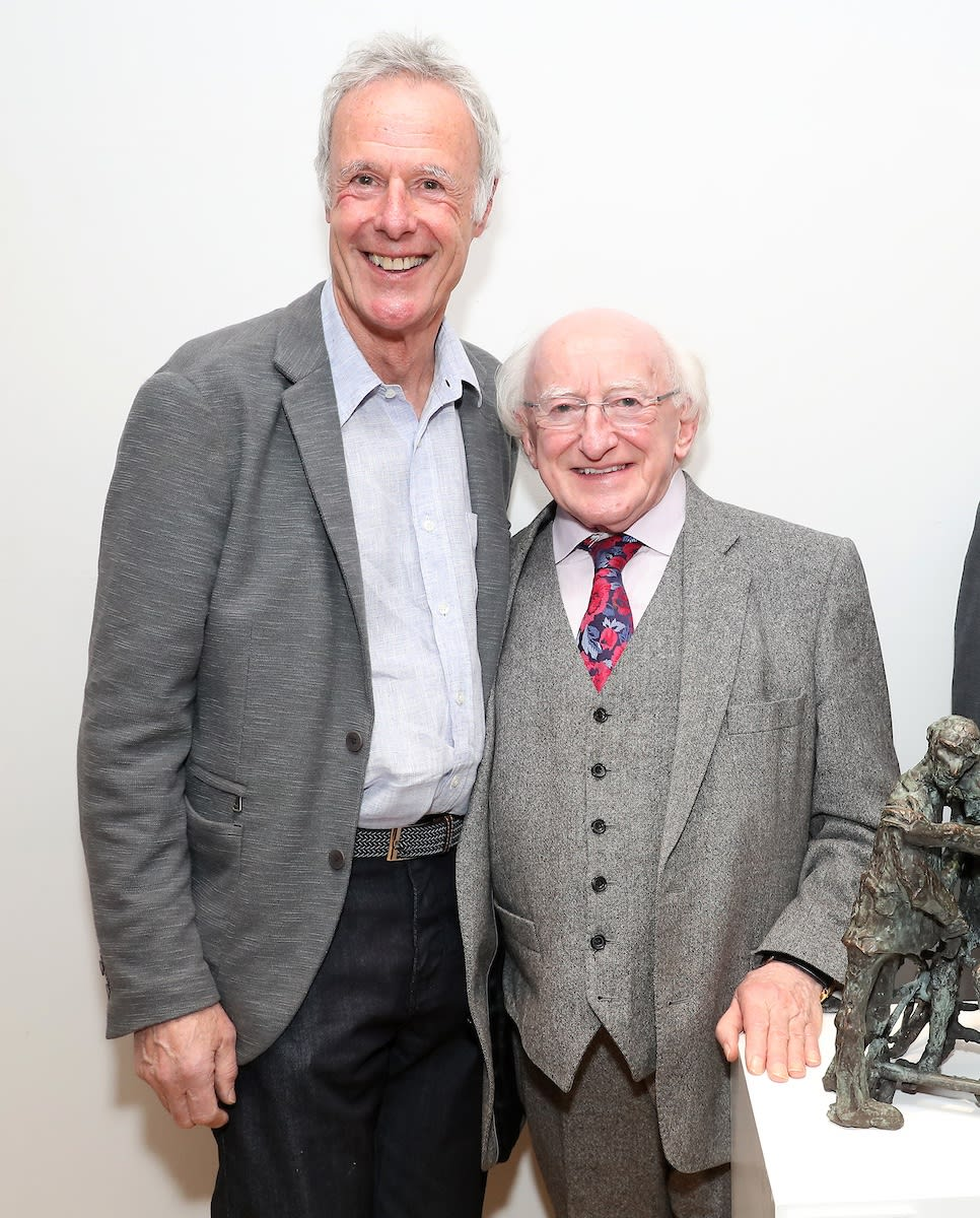Rowan Gillespie & President Michael D Higgins