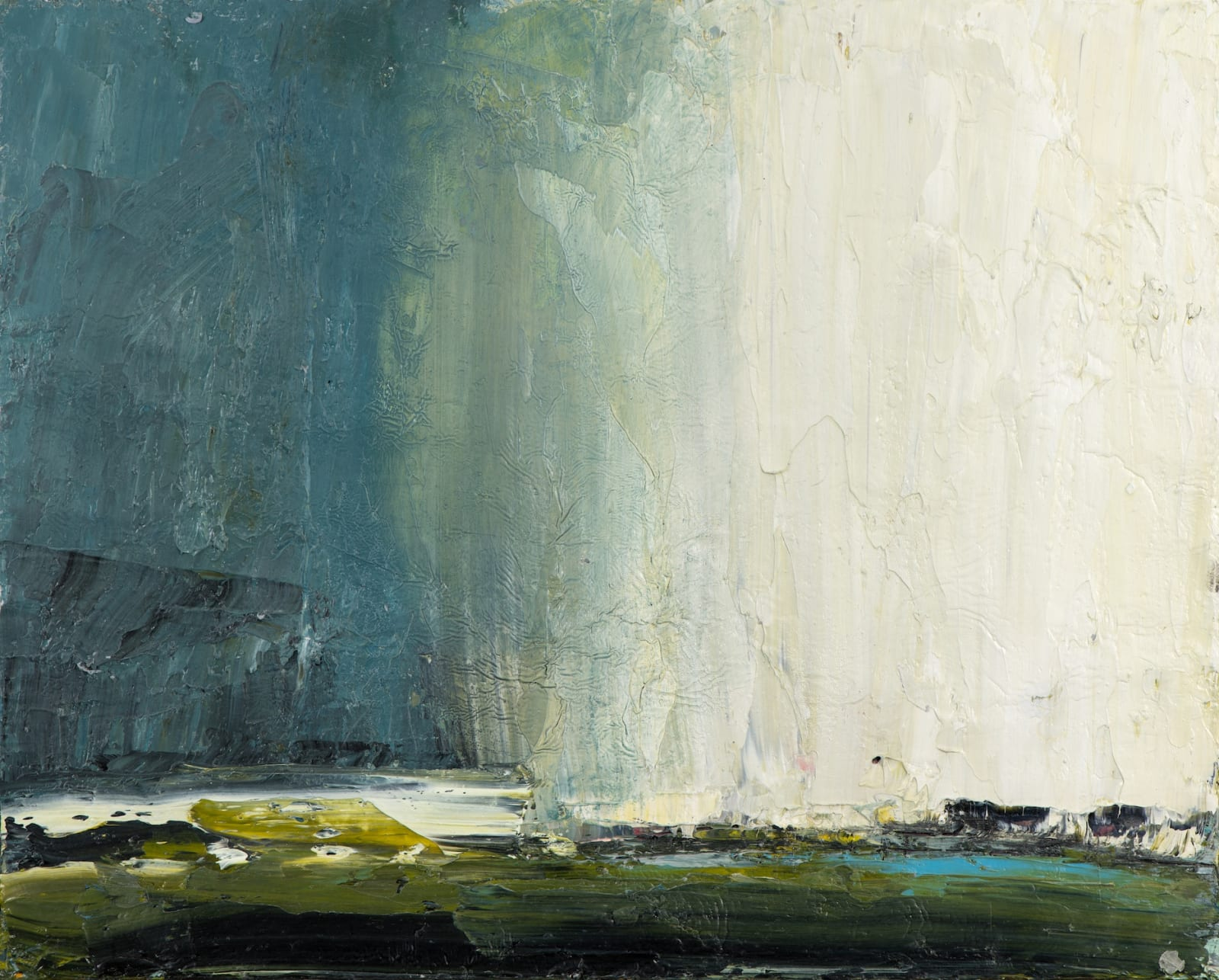 Carol Hodder, Coming Rain, oil on canvas, 40 x 50cm Artwork images courtesy of Rob Lamb