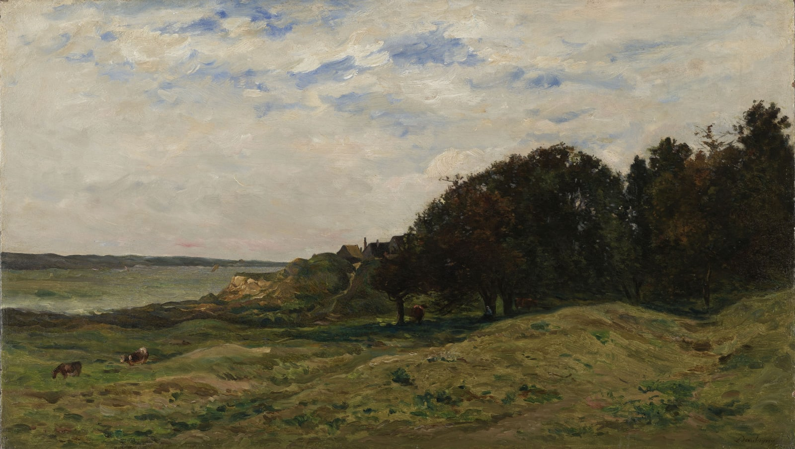 Charles François Daubigny, Villerville, 1874