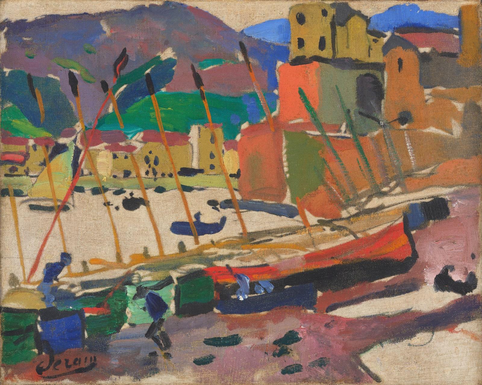 André Derain Le port de Collioure, 1905