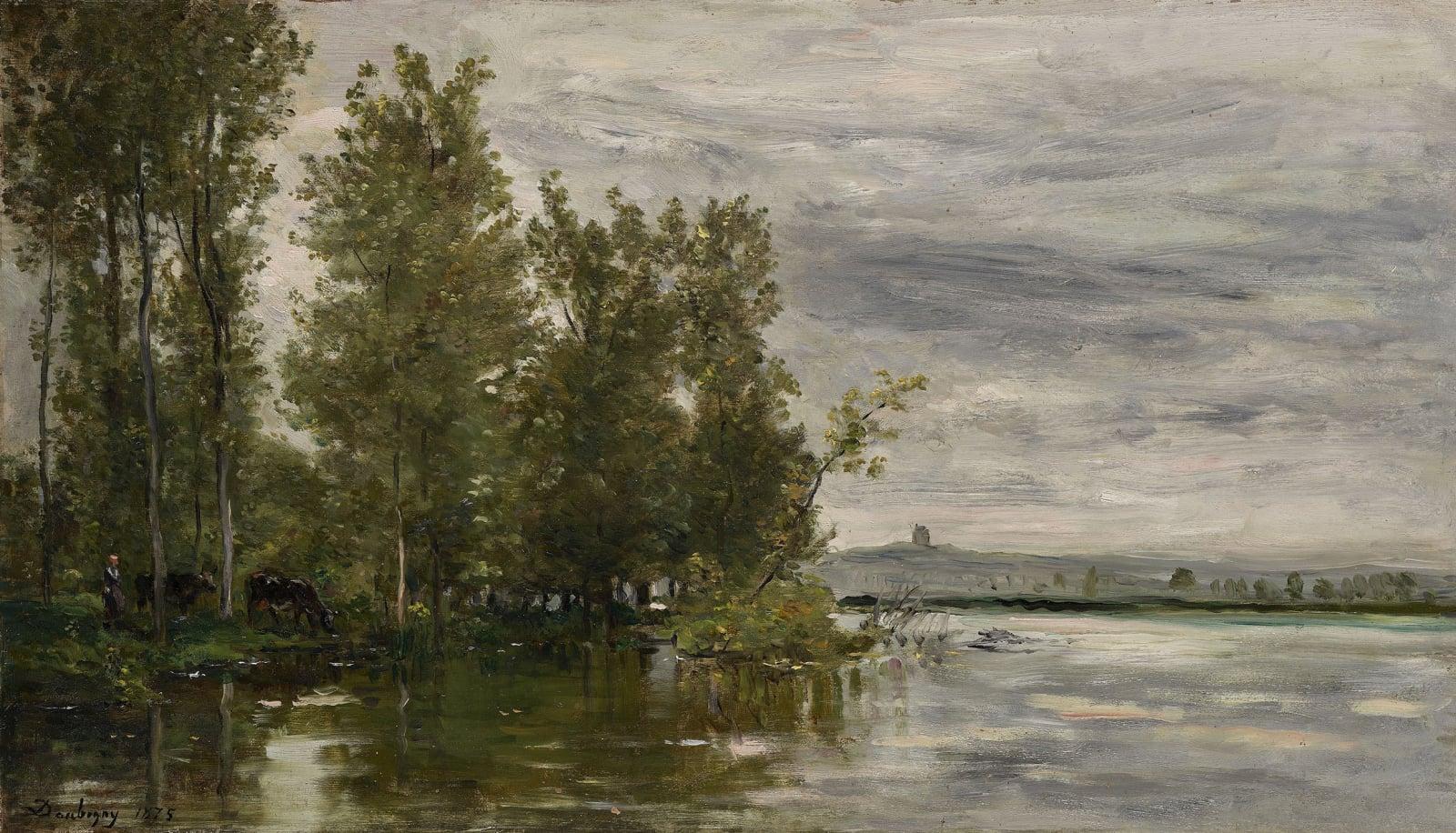 Charles François Daubigny, L'Inondation, 1875