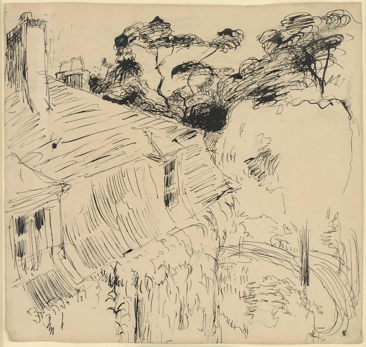 André Derain, Une maison à Chatou, c. 1900