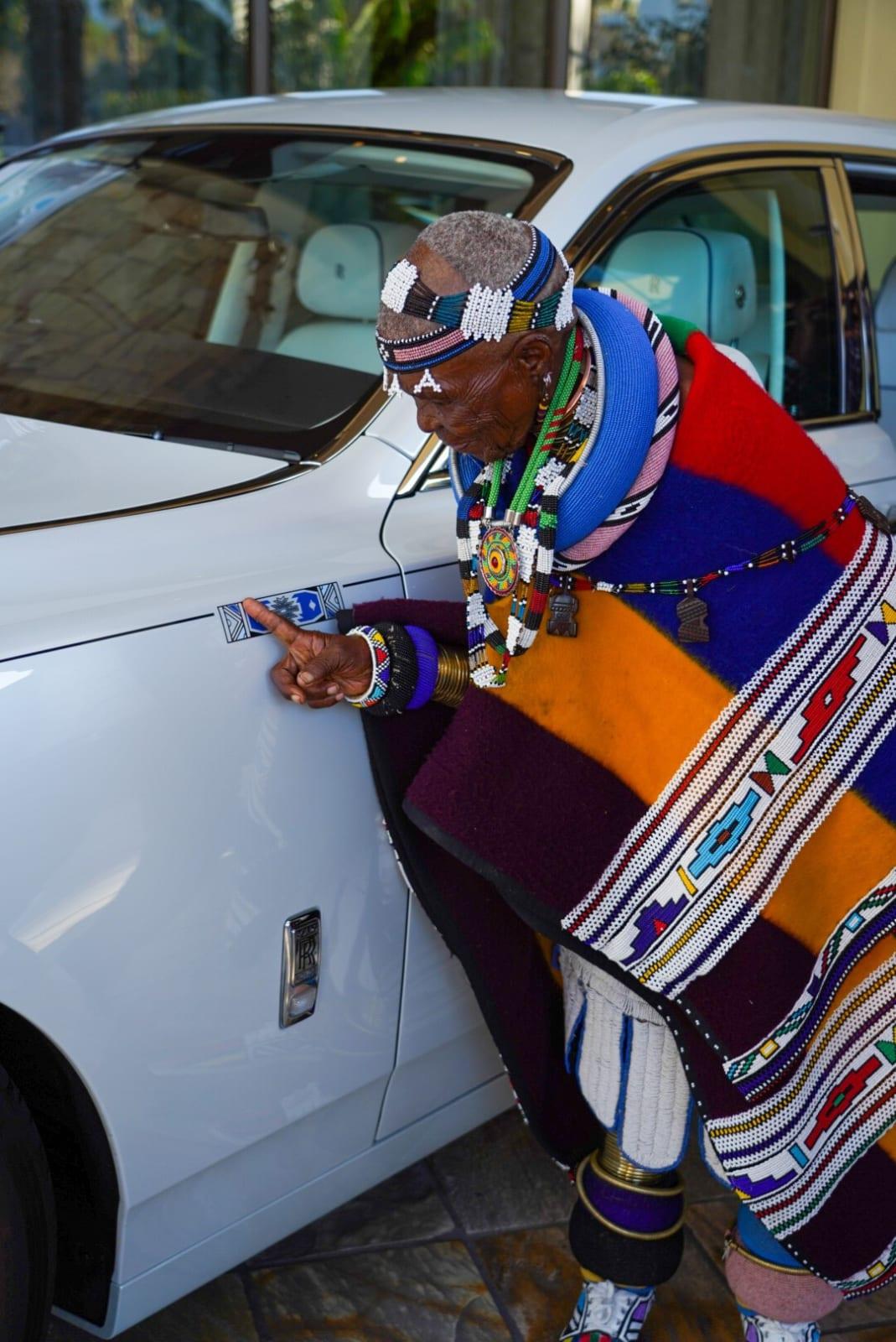 Dr Esther Mahlangu unveils Rolls Royce Phantom