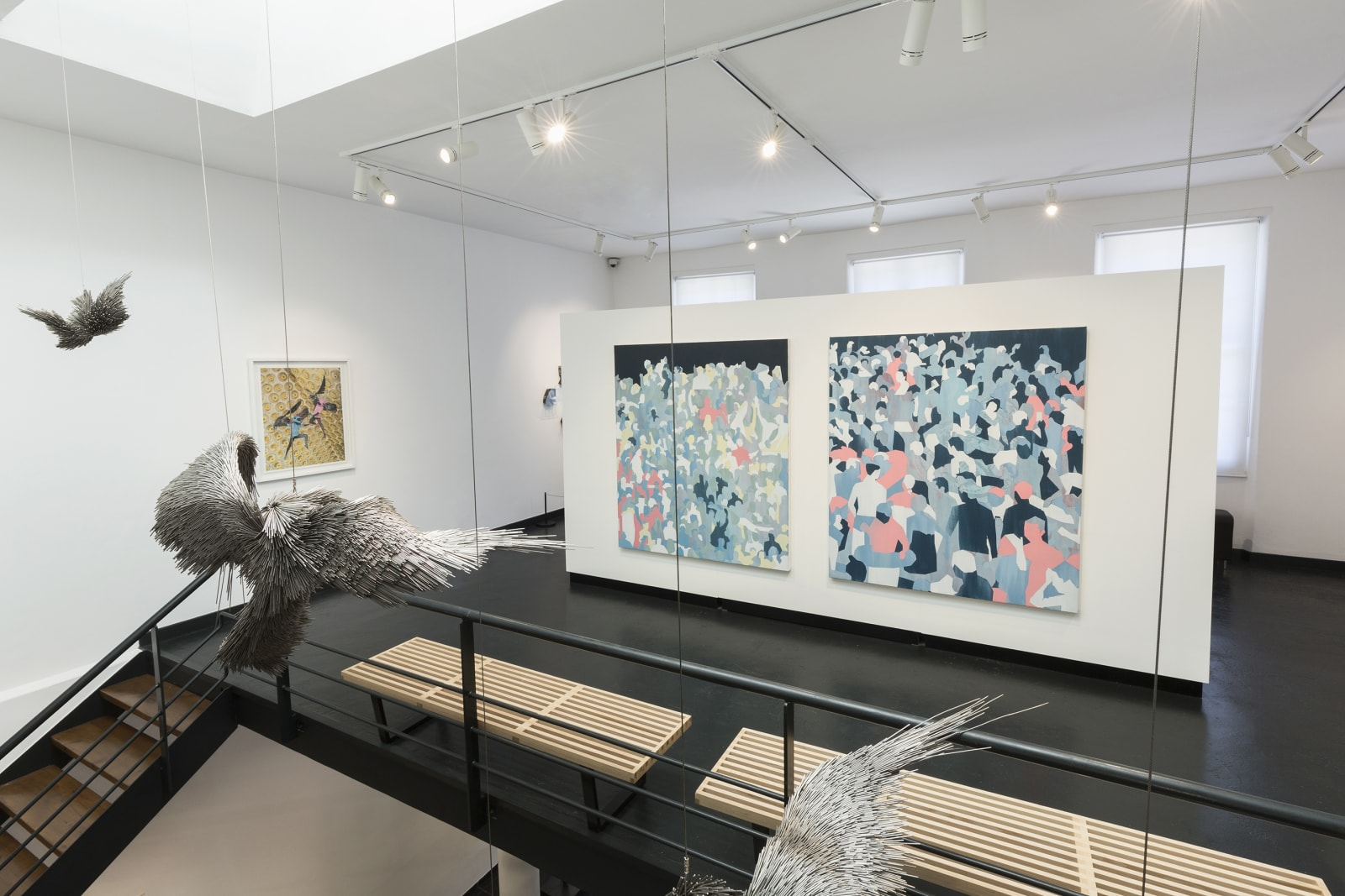 Jake Michael Singer | In Murmurs | Installation view | THK Gallery 2019