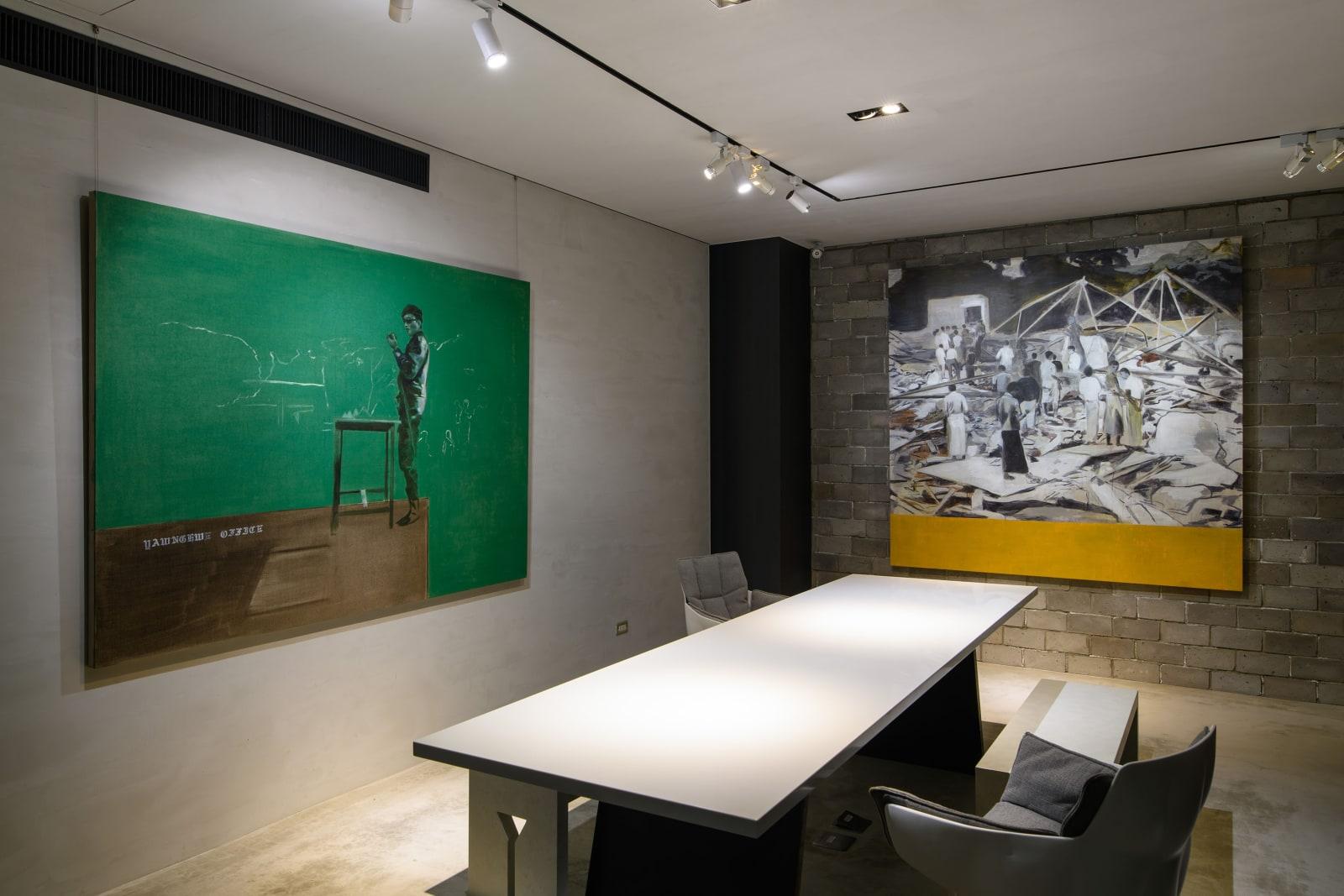 良瑞流亡辦公室 國家博物館:絕對反叛