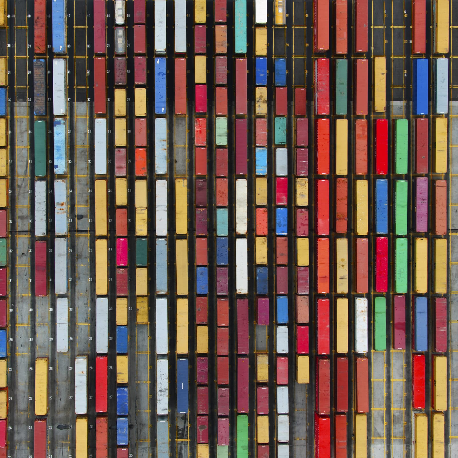Coloured Containers