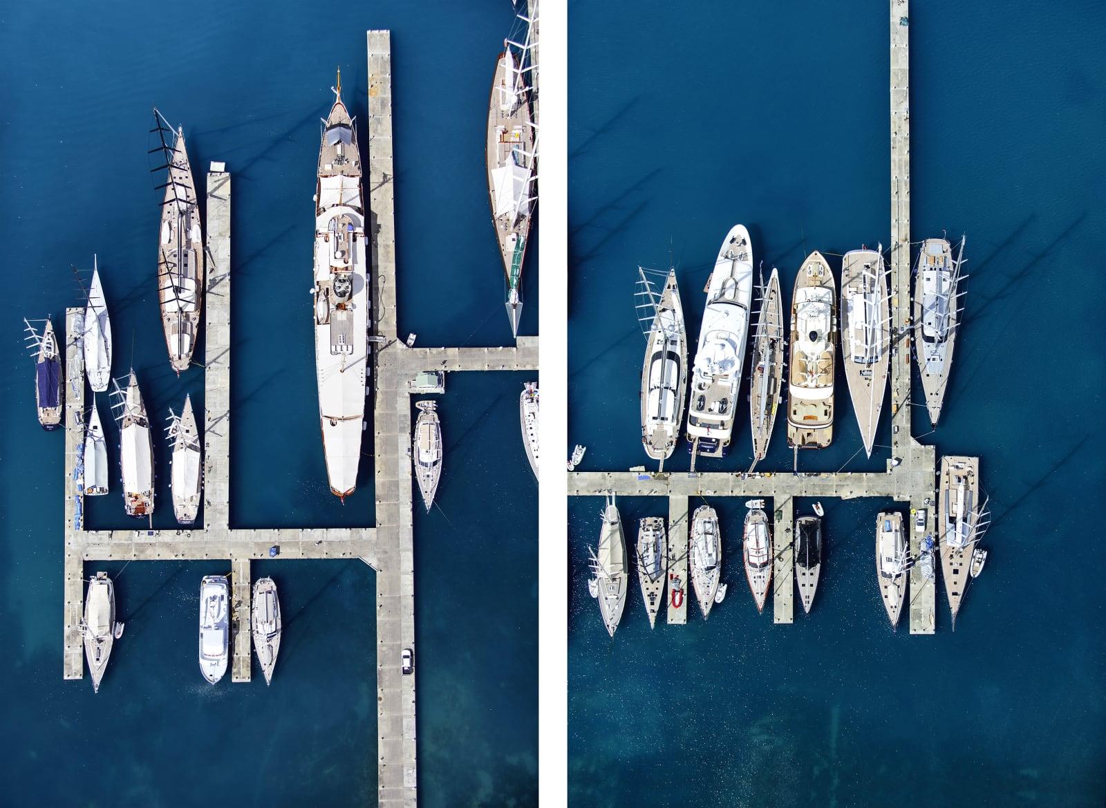 Yacht Club Diptych