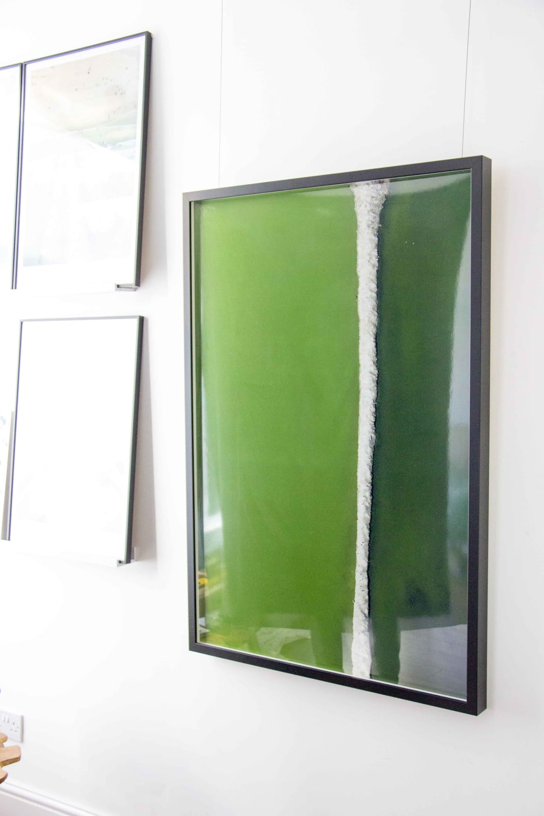 Green with Line