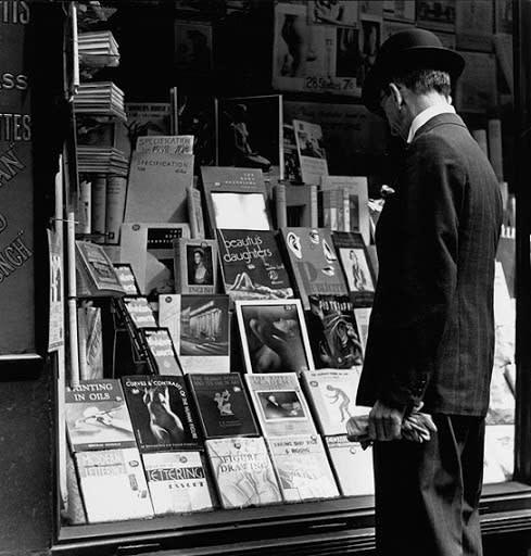 Charing Cross Road (window display), c.1936