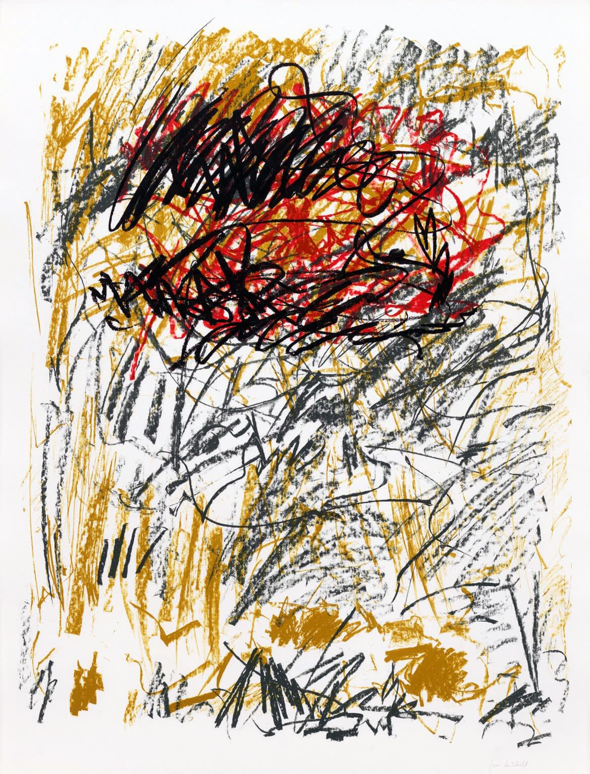 Joan Mitchell, Flower III, 1981