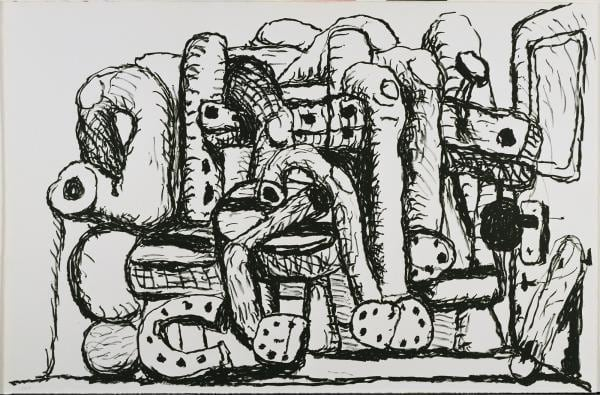 Philip Guston, Pile Up, 1983