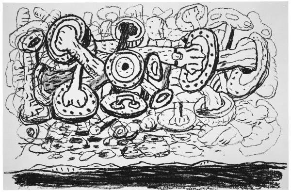 Philip Guston, Sky, 1983
