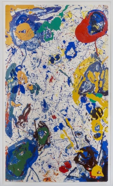 Sam Francis, Meteorite, 1986