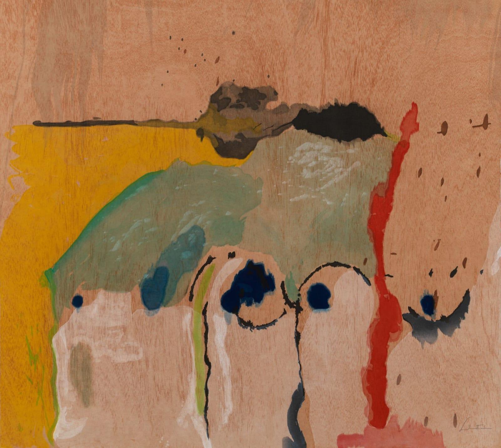 Helen Frankenthaler, Tales of Genji I, 1998
