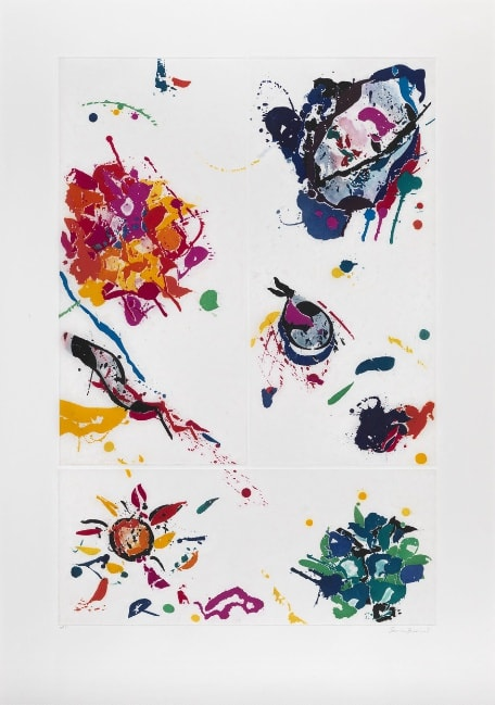 Sam Francis, Untitled, 1988