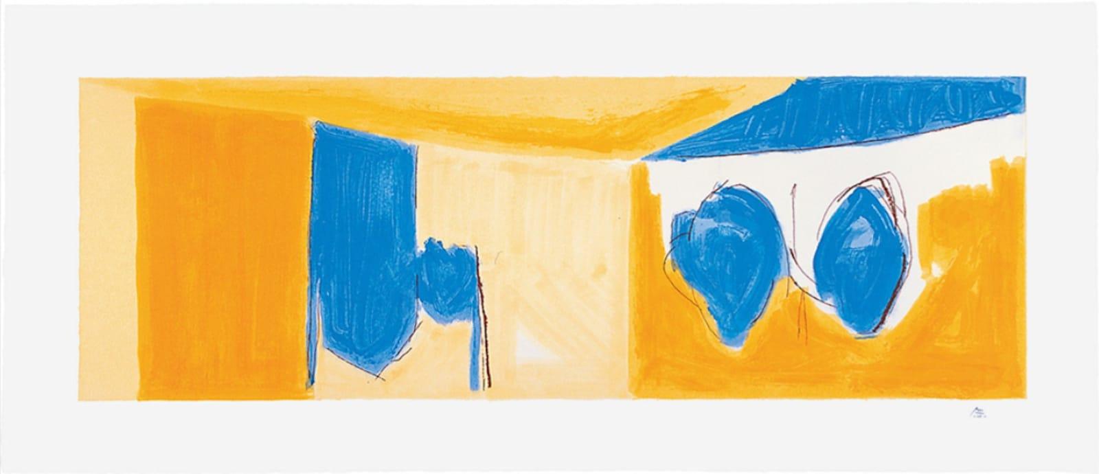 Robert Motherwell, Mediterranean Light, 1991