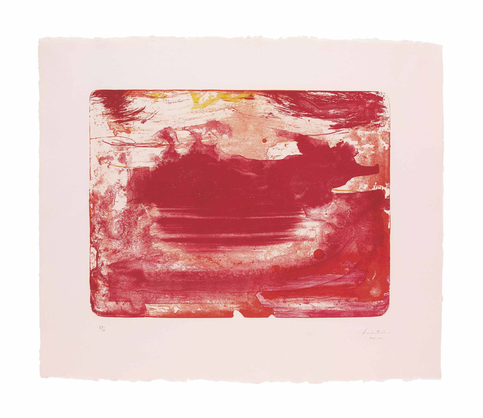 Helen Frankenthaler, The Red Sea, 1978