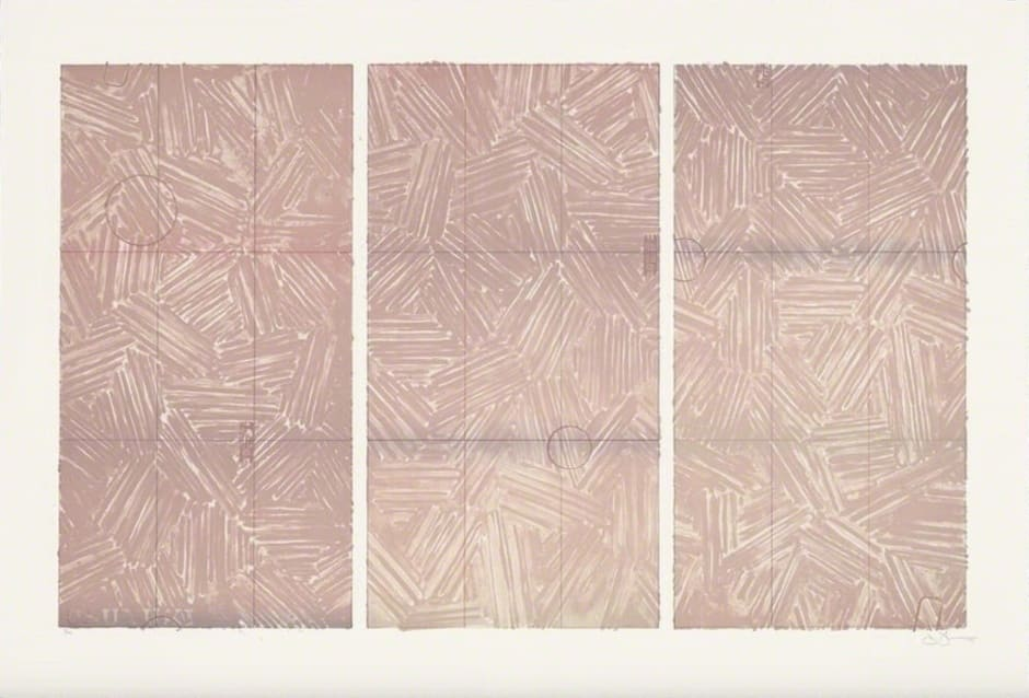 Jasper Johns, Usuyuki, 1979