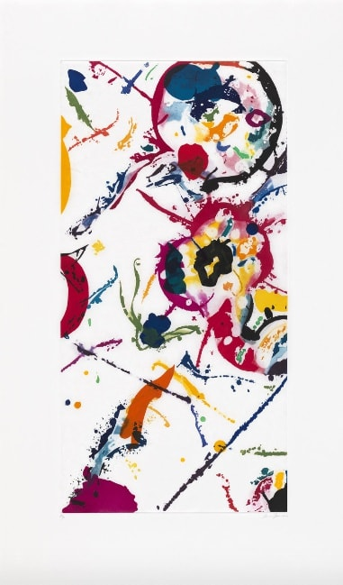 SAM FRANCIS, UNTITLED, 1991