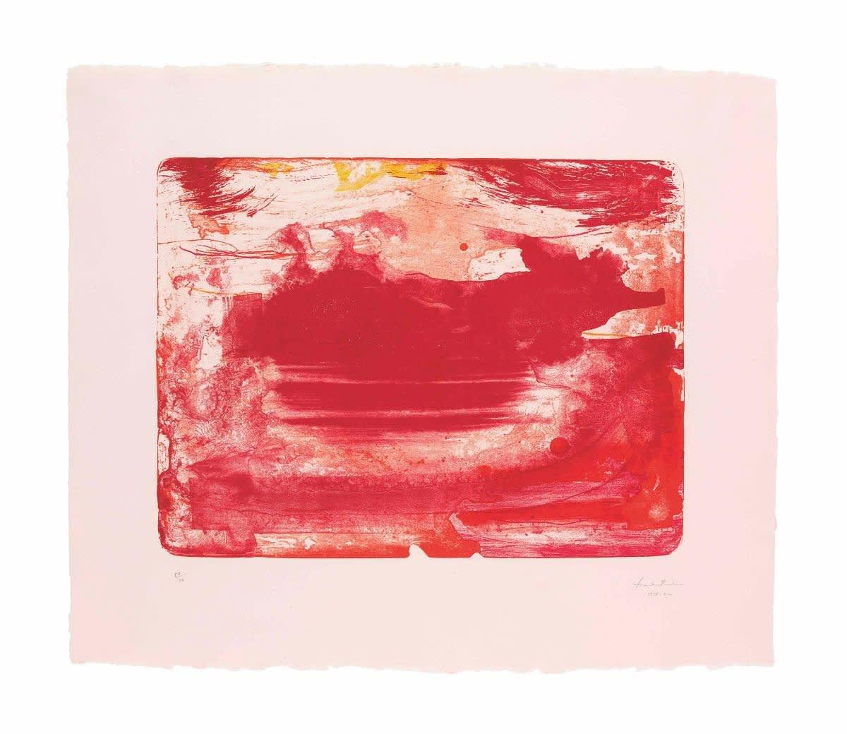 Helen Frankenthaler, The Red Sea, 1978
