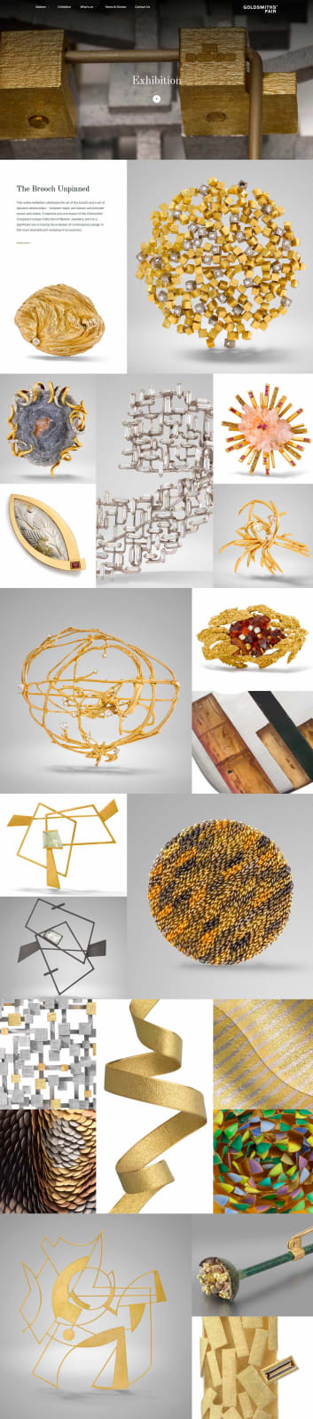 the brooch unpinned: the goldsmiths' company collection 1961–2020
