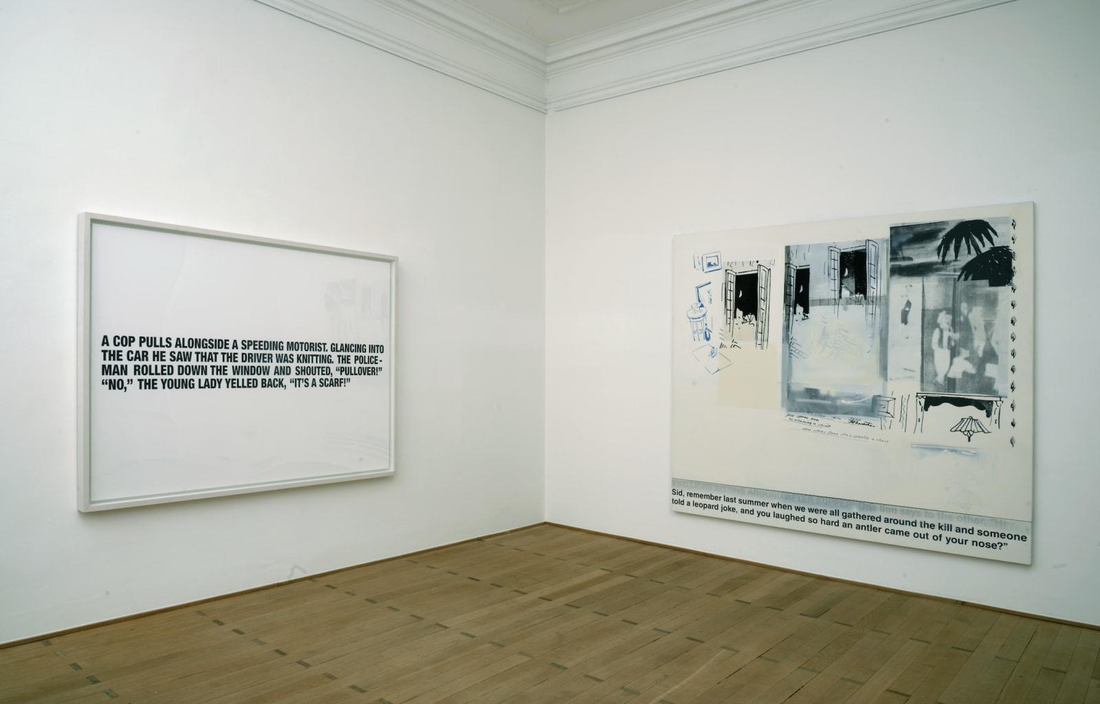 Richard Prince - Joke Paintings