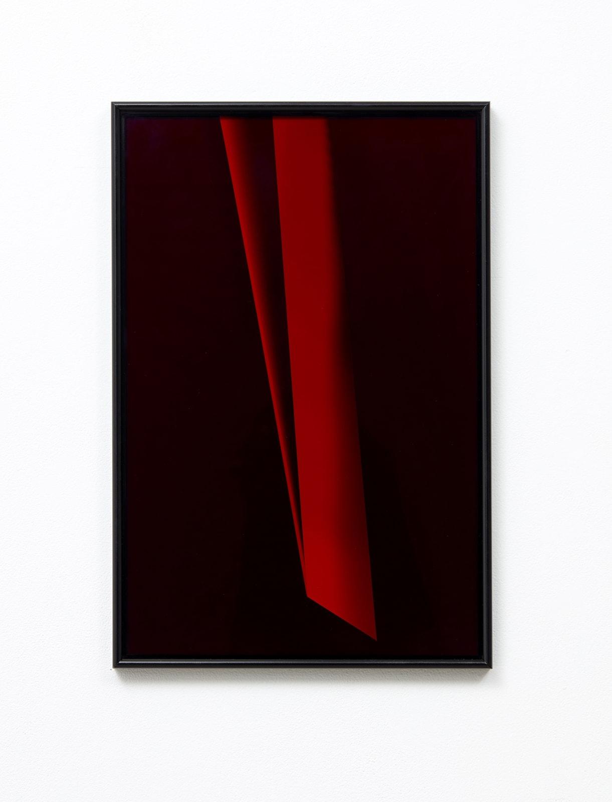 Andrew Beck Spilt Focus (red II) 2018
