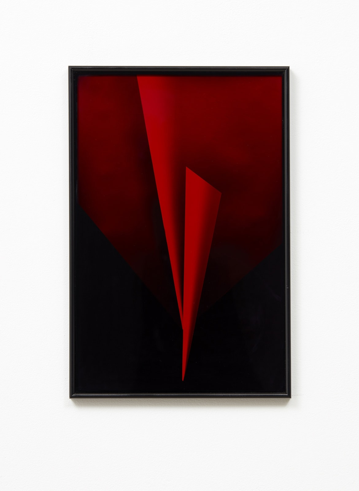 Andrew Beck Split Focus (red I) 2018