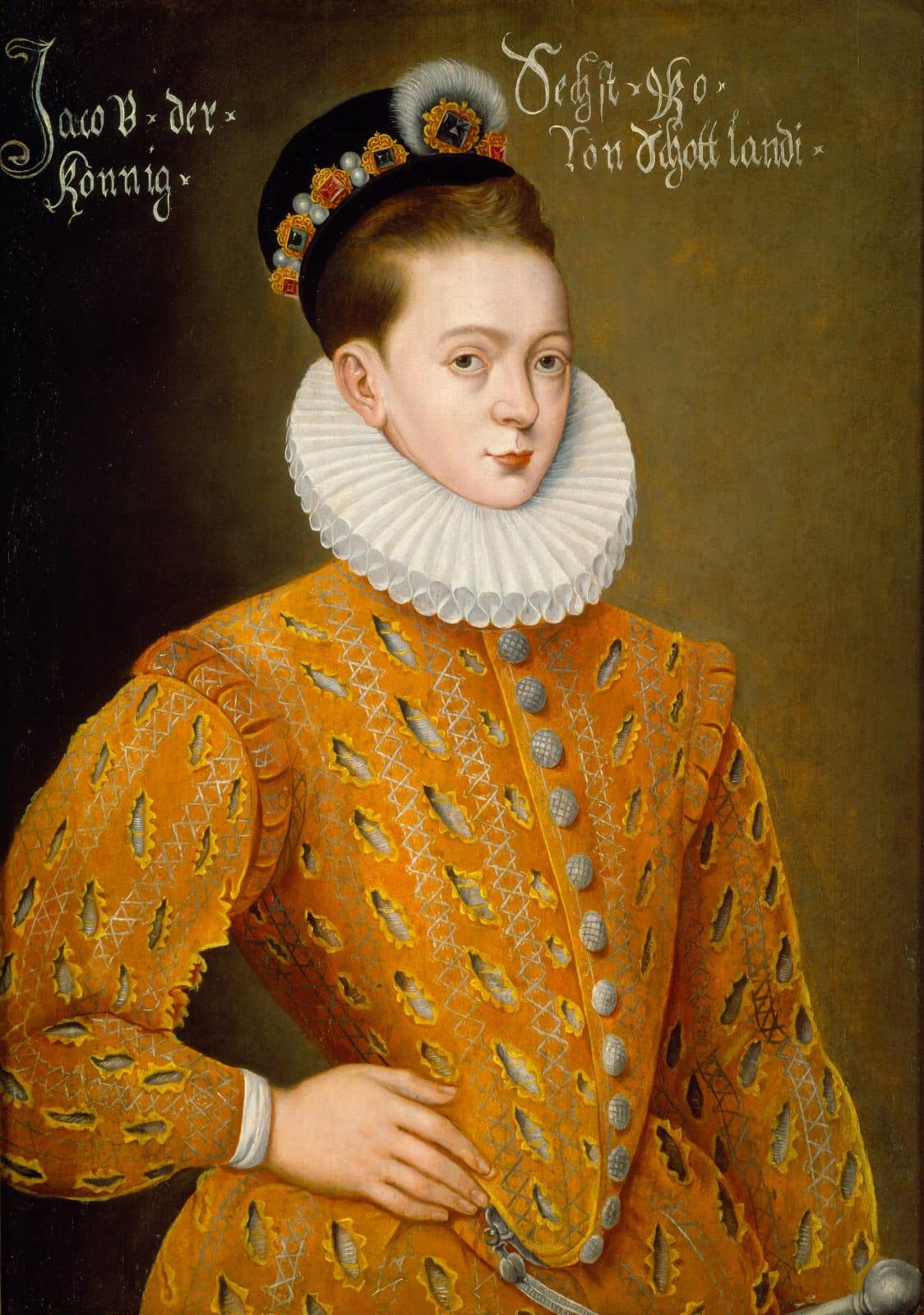 James VI of Scotland, and later I of England (1566 - 1625)