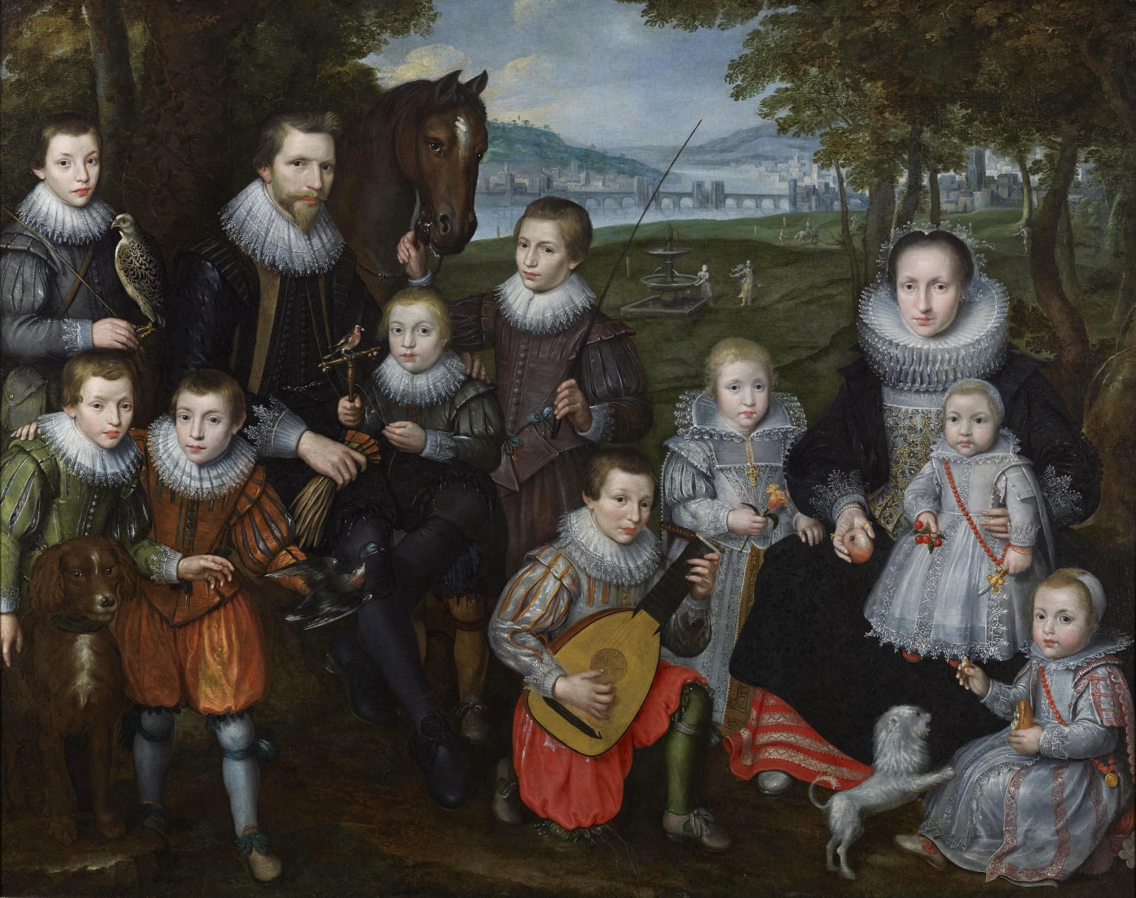An Unknown Flemish Family