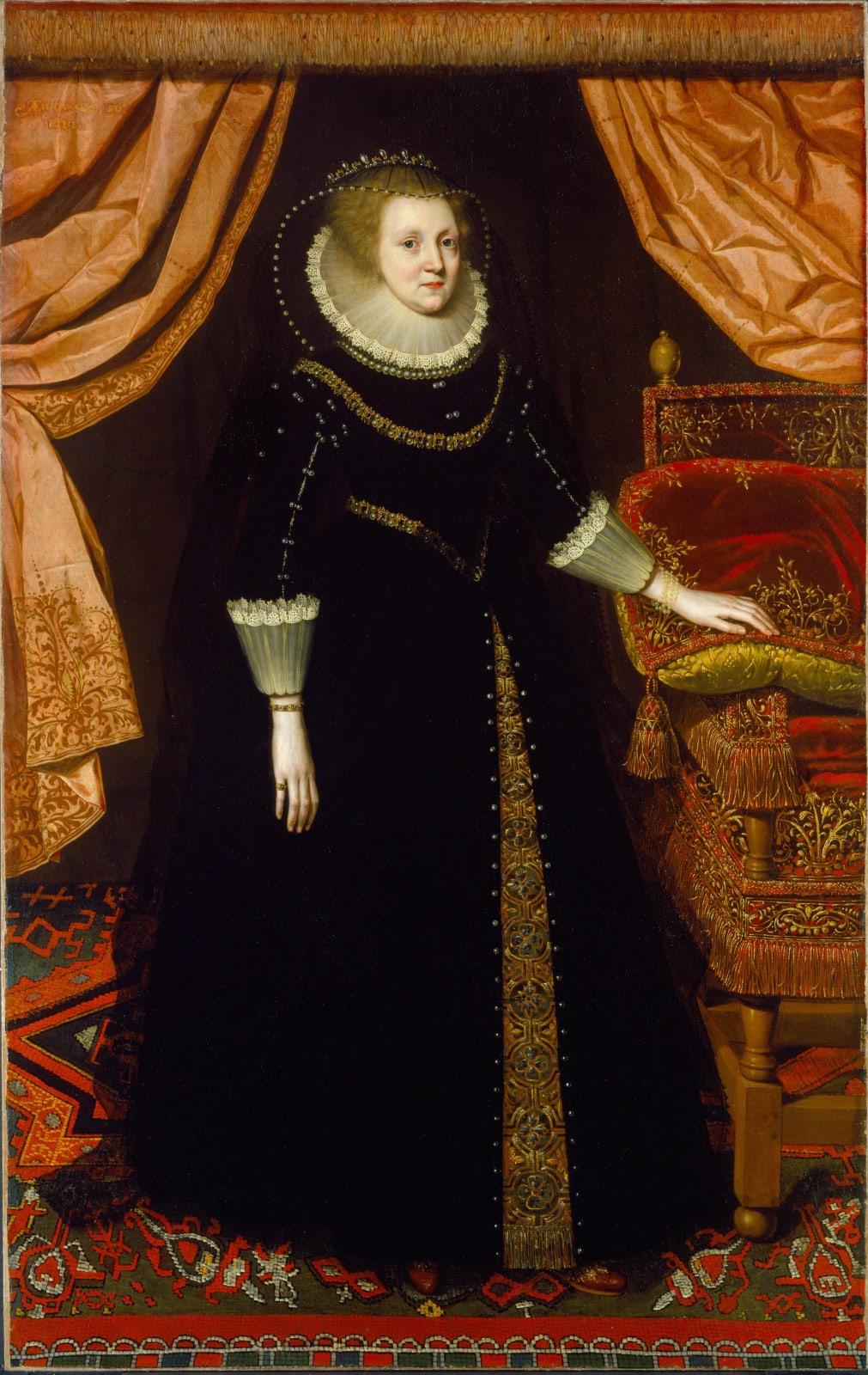 Elizabeth Vernon, Countess of Southampton (1572 - 1655)