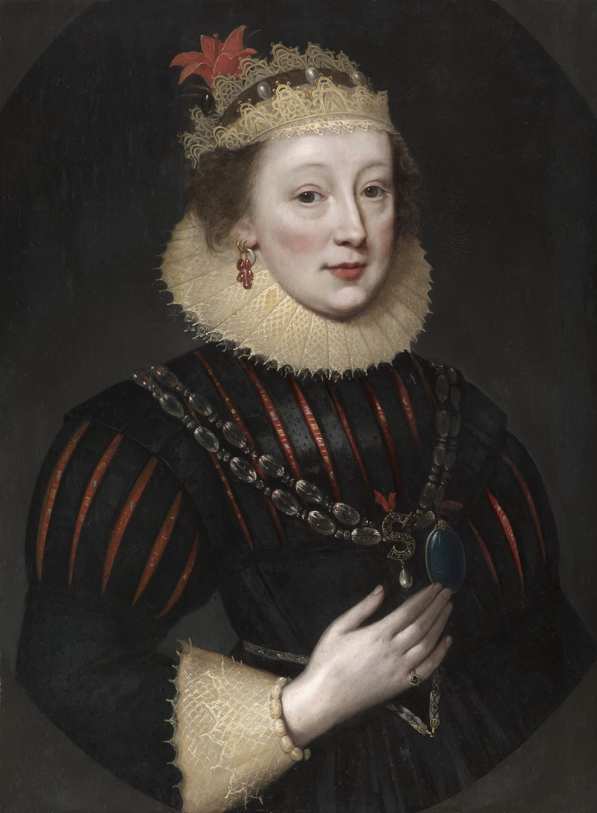 Elizabeth Wriothesley, née Vernon, Countess of Southampton  (1573 – c. 1655)