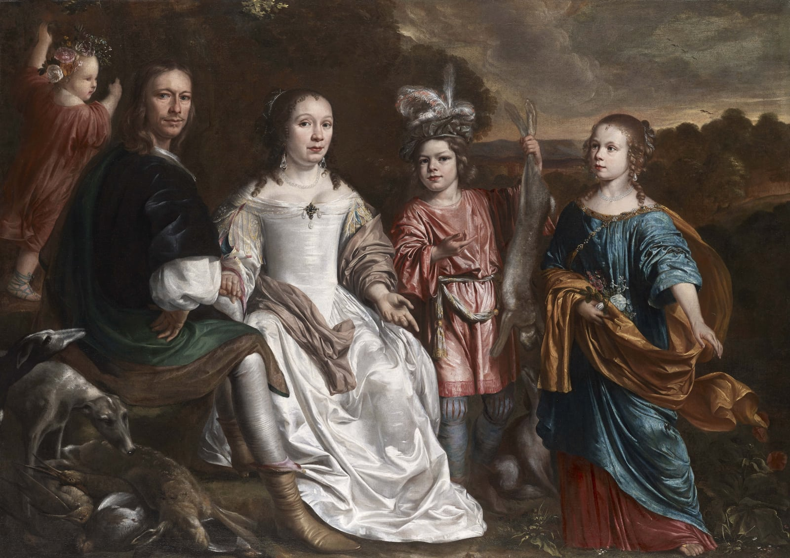 A family group, presumably from Zeeland