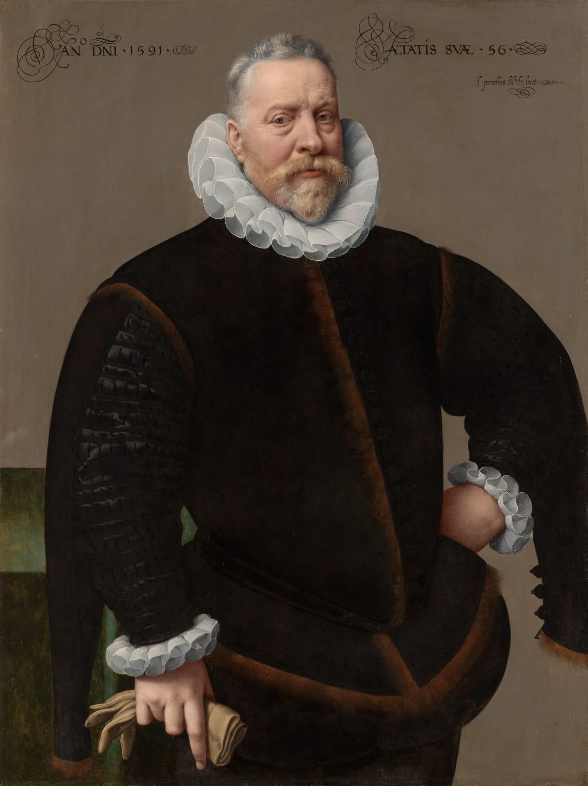 An Unknown Man, aged 56