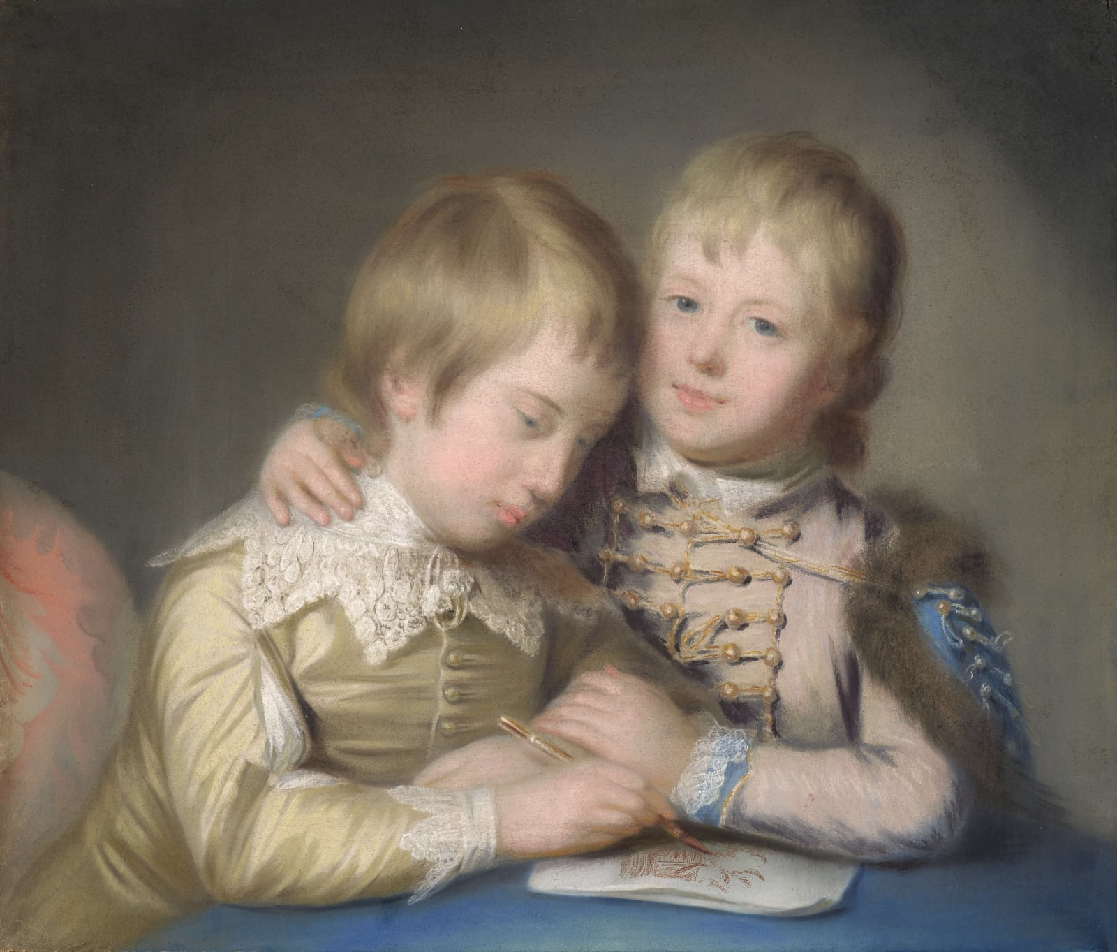 George, later 2nd Marquess Townshend (1753 – 1811), and Lord John Townshend (1757 – 1833), as boys