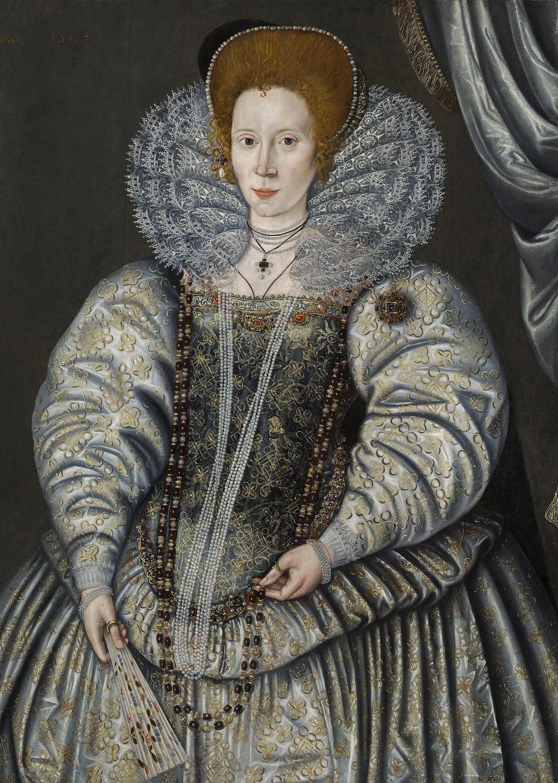 """Elizabeth """"Bess"""" Throckmorton, Lady Raleigh (1565 – c.1647)"""