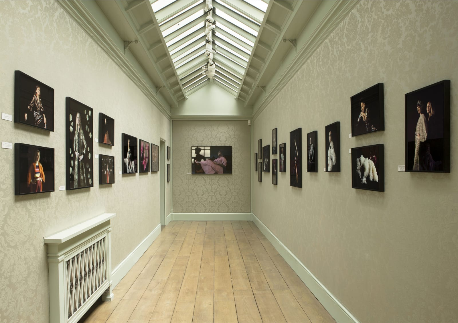 "The Long Gallery during ""Women in the Art World"" exhibition (May 2018)"