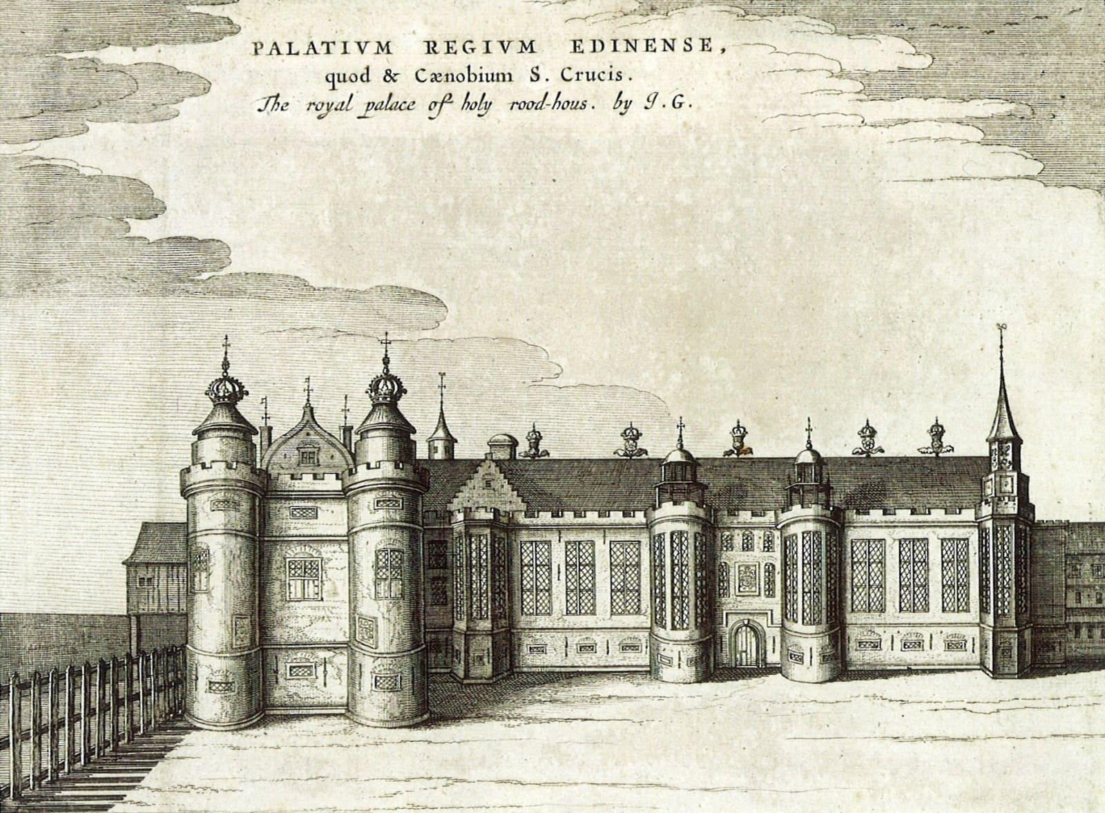 Where she passed: The Palace of Holyroodhouse, Edinburgh