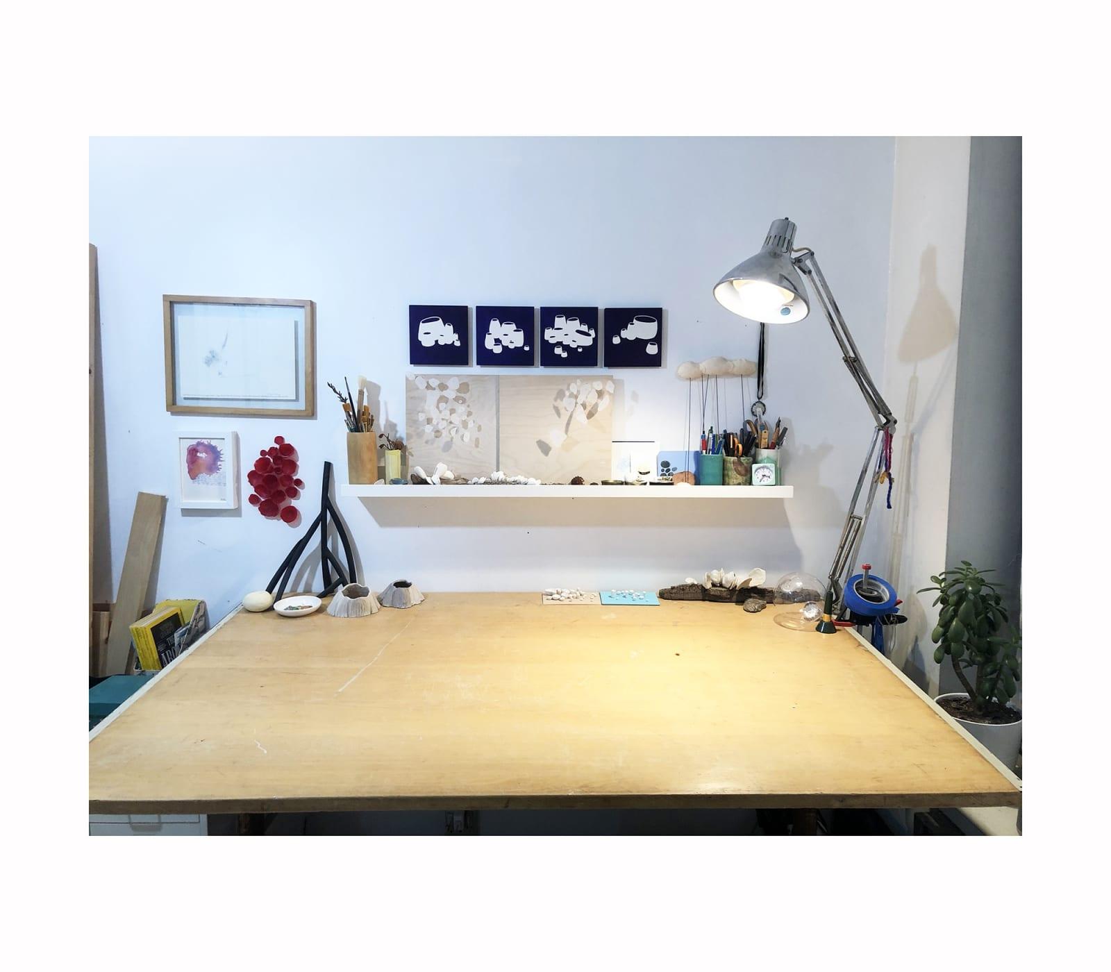Leah Harper Home Studio, Brooklyn, NY, USA