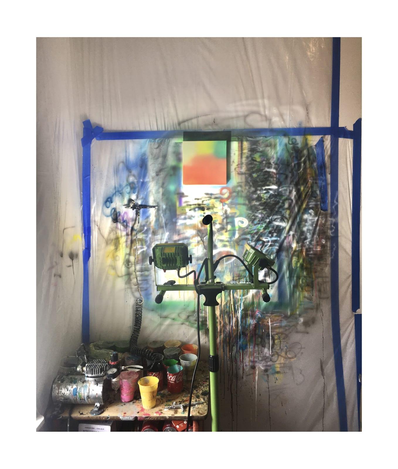 Siyuan Tan Home Studio, Brooklyn, NY, USA