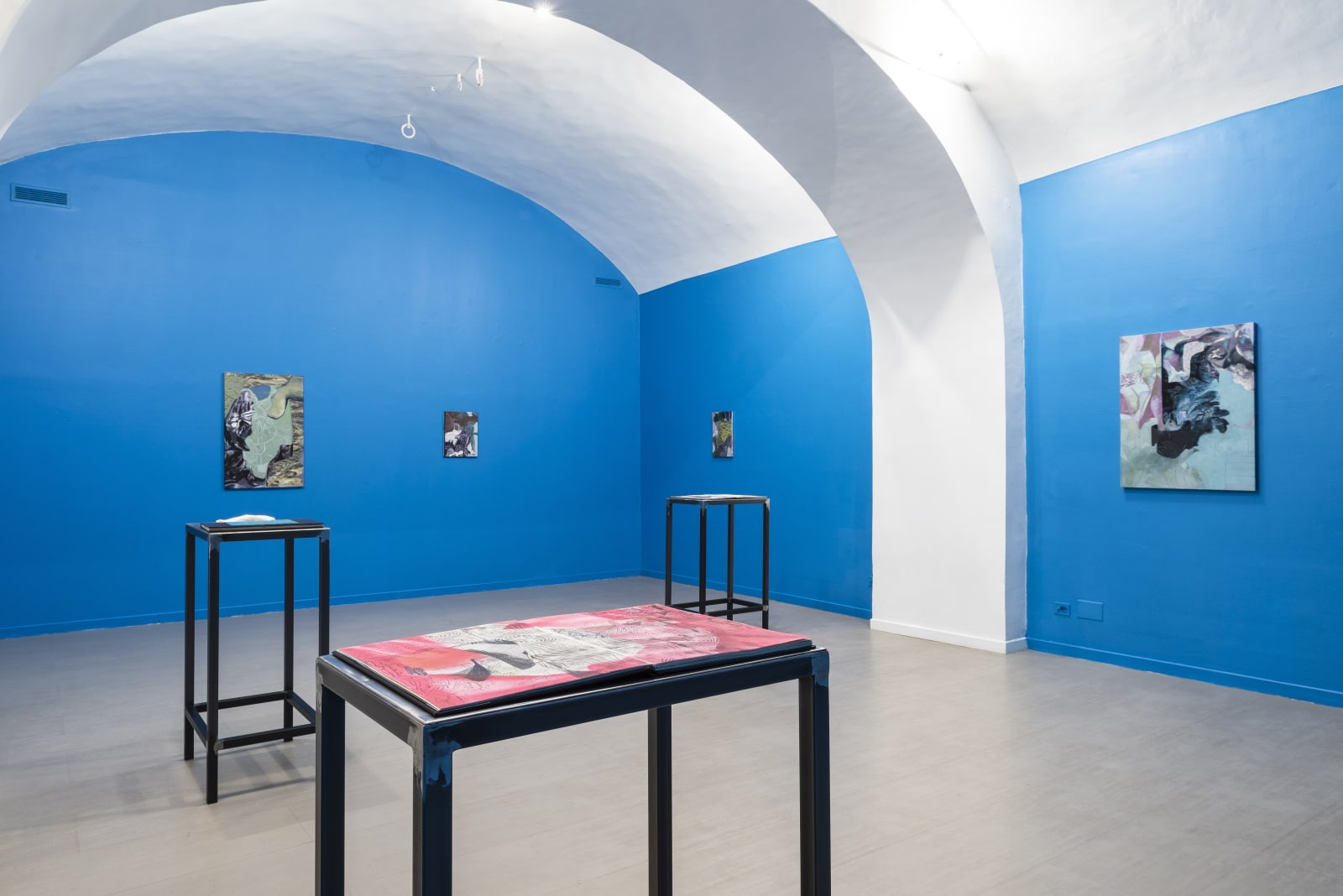 Alessandro Roma, One foot in the world and the other in the stillness, installation view at z2o Sara Zanin Gallery Rome
