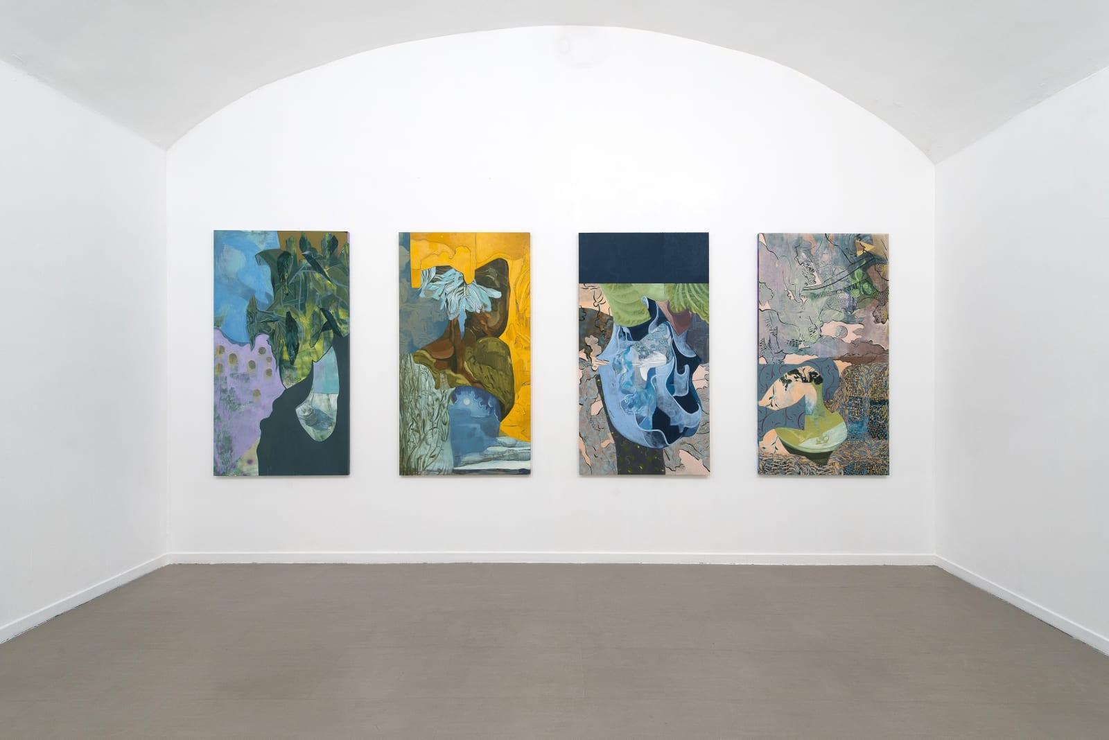 Alessandro Roma, Sguardo Straniero, installation view at z2o Sara Zanin Gallery Rome