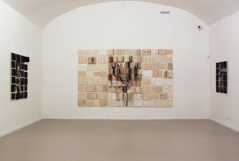 Ekaterina Panikanova, Un, due, tre, fuoco, installation view at z2o Sara Zanin Gallery Rome