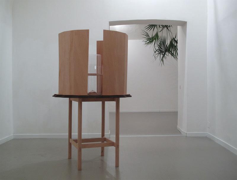 Michele Guido _02.02.13_garden project, 2013 Installation view