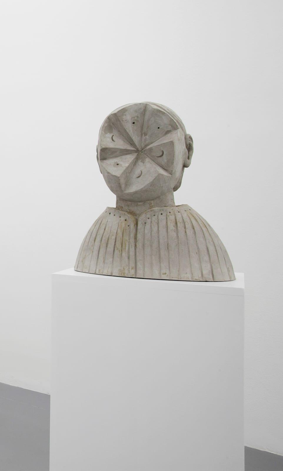 Anna Hulacova, Untitled, 2017, cement 43 x 35 x 22 cm
