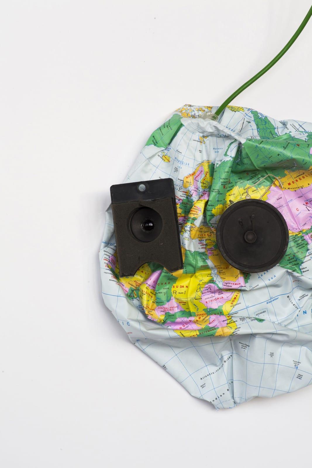 Kristof Kintera, The world is not rotating around your head, 2016, mixed media, cm 103 x 73