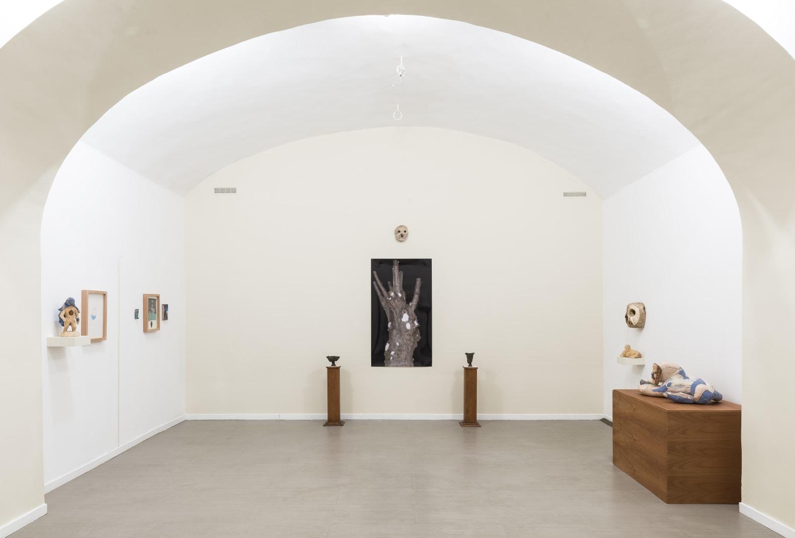 Evgeny Antufiev, Fusion and Absorption, installation view at z2o Sara Zanin Gallery