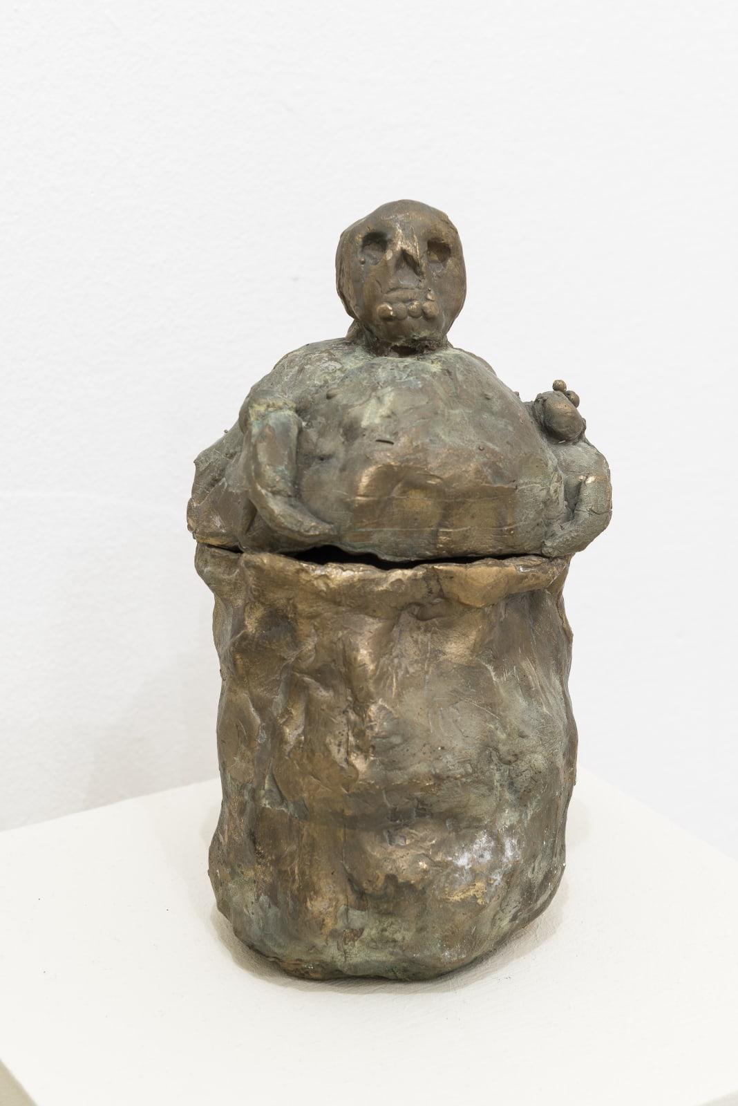Evgeny Antufiev, Untitled, 2015, brass sculpture, cm 22 x 11 x 09